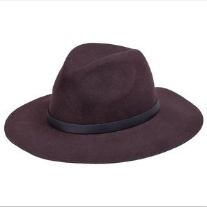 Peter Grimm Caspian 100% Wool Brown floppy hat